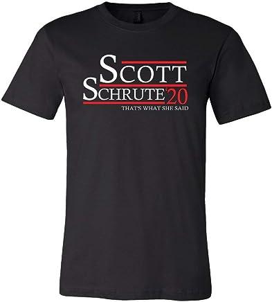 5b7a208087a9c7 LivingTees Scott Schrute 20 Unisex T Shirt    The Best The Office Has to  Offer