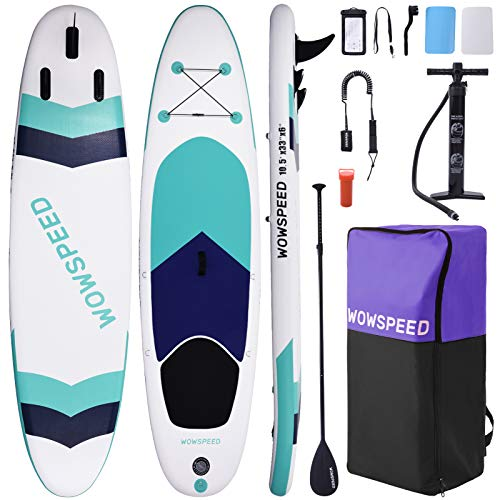 Inflatable Stand Up Paddle Board, Paddle Board Surfboard, 10.5ft...
