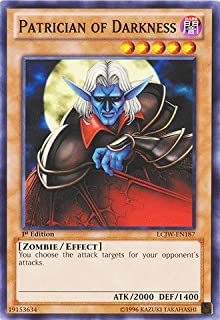 Yu-Gi-Oh! - Patrician of Darkness (LCJW-EN187) - Legendary Collection 4: Joey's World - 1st Edition - Common