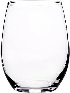 68804301107 Home Essentials 21oz Stemless Wine Glass Set of 4