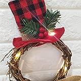 Zoom IMG-1 frauit ghirlanda natalizia per porta