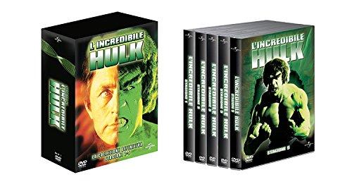 L'Incredibile Hulk - Collezione Completa Stagioni 1-5 (Box Set) (23 DVD)