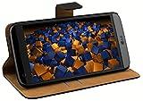 mumbi Echt Leder Bookstyle Case kompatibel mit LG G5 Hülle