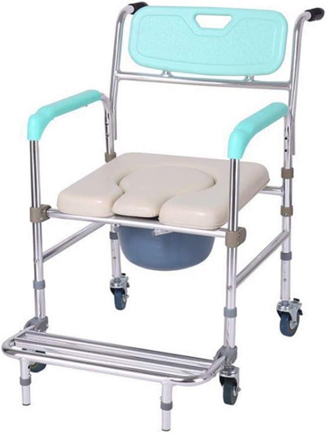 Shipping included SJWA Bathroom Chair Kansas City Mall Lightweight Seniors Portable