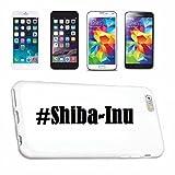 Helene Coque de protection rigide pour Samsung S7 Edge Galaxy Hashtag # Shiba Inu en réseau social