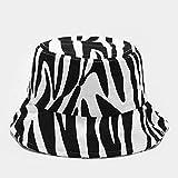 Sombrero Pescador Gorras Hombre Mujer Patrón De Lona Sombreros para El Sol Sombrero De Cubo para Mujer Sombrero De Pescador De Panamá De Color Puro para Mujer Sombrero De Pescador Al Aire Libre-W