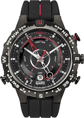 Timex Herren Analog Quarz Uhr mit Silikon Armband T2N720