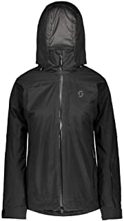 Scott W Ultimate DRX - Chaqueta impermeable para mujer, color negro