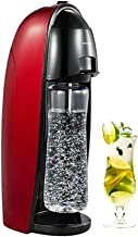 Hengge Soda Bubble Machine Robinet à eau Soda Carbonateur Rouge