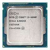 Xglai Utilizado INT/EL Core I5 4690K 3.5GHz Socket SOCKER LGA 1150 Quad-Core CPU Procesador SR21A