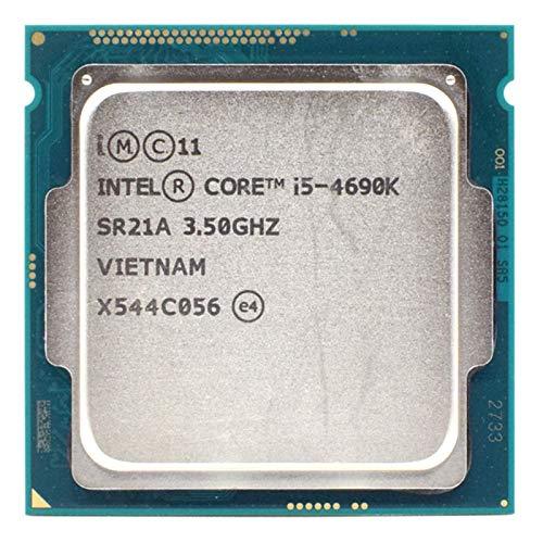 Xglai 中古INT/EL CORE I5 4690K 3.5GHz 6MBソケットLGA 1150クアッドコアCPUプロセッサSR21A