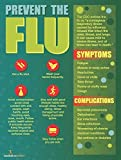 Nutrition Education Store Exam Room Prevent The Flu Poster 12x18