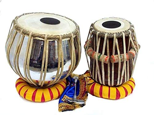 Mustang Professional Wooden Indian Musical Instrument Bayan Tabla, Dayan Tabla For Beginners & Students/Boys/Girls