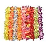 36 Stücke KayMayn Hawaiian Multi-Colored Lei Blumengirlande, Seidenblumen, Kostüm Set, für...
