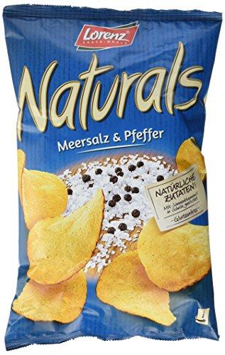 Lorenz Naturals Chips, Meersalz+Pfeffer, 6er Pack (6 x 95 g)
