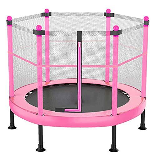 LZQHGJ YAJIAN Trampolín, Gimnasio Profesional Plegable trampolín Redondo, rebundeder Premium Safety Net for Kids Home Sostiene Código de Productos básicos: YWBBB-761