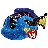 TY Beanie Boos Aqua-Pez Azul 15 cm (37243TY), 3 a&ntildeos (United...