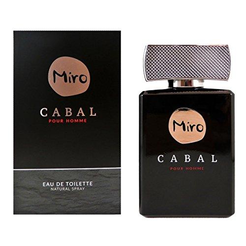 Miro Cabal Homme Eau de Toilette, 1er Pack (1 x 75 ml)