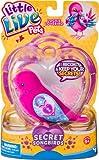 Little Live Pets 34707 - Wellensittich Lockie Lovebird, rosa, zwitscherndes Vögelchen, pfeift lustige Melodie, Vogel nimmt Geheimnis auf und bewahrt es, elektronisches Haustier für Kinder ab 5 Jahre