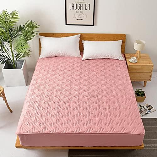 YDyun Protector de colchón, con Aloe Vera, (Todas Las Medidas) Colcha Hotel 100% algodón de una Pieza