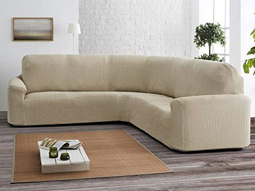 Lanovenanube - Funda sofá Rinconera Milos - Full Adapt - Color Gris Claro C21