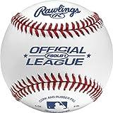 Rawlings Flat Seam Official League Baseballs, 12 Count