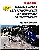 LIT-12618-PZ-50 1990-1999 Yamaha Phazer PZ480 Snowmobile Service Manual