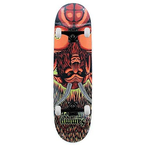 Cliche Skateboard Sammy Inverno Satana direzionale Skateboard completo Multi 8,625'