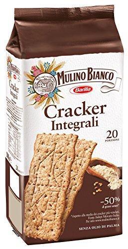Mulino Bianco Crackers kekse integrali 100% vollkorn Salzgebäck 500g gesalzen