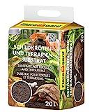 Floragard Sustrato para tortuga y terrario 20 l natural para reptiles