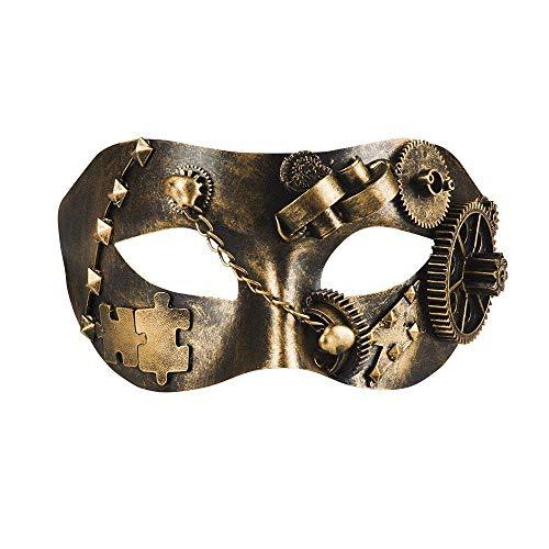 Boland Steampunk Rottismo 10116593 Masque pour les yeux Taille unique