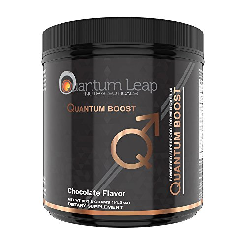 Quantum Boost Green Juice Super Food, Delicious Chocolate Fudge, no mint taste and no grit!