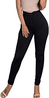 Women Casual Leggings Fashion Solid Color Simple Trousers Stretchy Sportswear Slim High Waist Pencil Pants