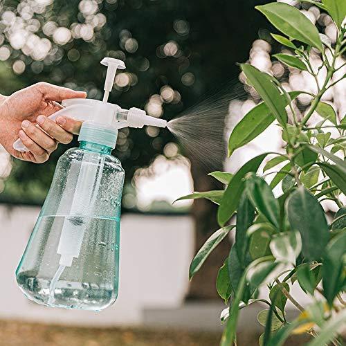 Regadera de plástico mano prensado puede rociar ajustable botella aerosol boquilla de cultivar un huerto casero plantas de riego de neumático Botella regadera riego de aerosol de dispositivos