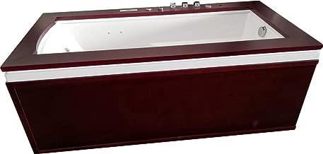 SDI Factory Direct Single Person Hydrotherapy Whirlpool Bathtub Spa Massage Therapy Hot Bath Tub w/Heater, Bluetooth, Remote - SYM0501A
