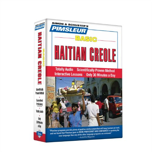 Compare Textbook Prices for Pimsleur Haitian Creole Basic Course - Level 1 Lessons 1-10 CD: Learn to Speak and Understand Haitian Creole with Pimsleur Language Programs 1 10 Lessons Edition ISBN 9780743572408 by Paul Pimsleur