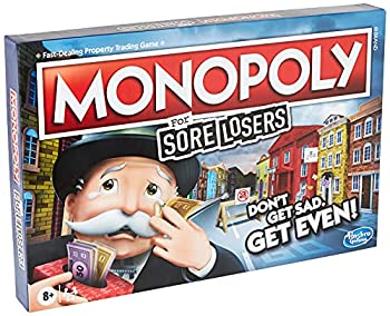 Hasbro Gaming Monopoly for Sore Losers Board Game for Ages 8 and Up The Game Where it Pays to Lose