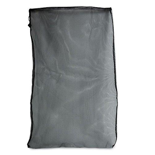 3x Filterbeutel schwarz 60x45 cm verschliessbar Filtermedien Filtersack Koi