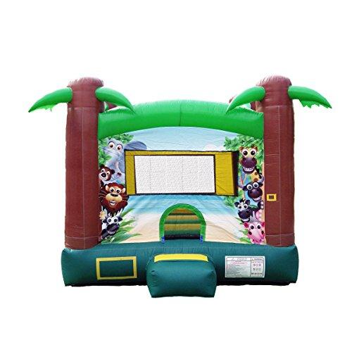JumpOrange Duralite Safari Party House Bounce House Backyard...
