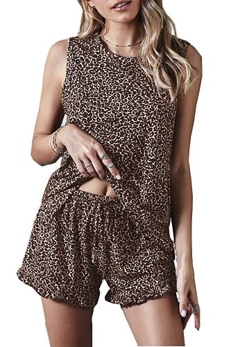(50% OFF) Ladies Lounge Pajama 2 Pcs Set $13.49 Deal
