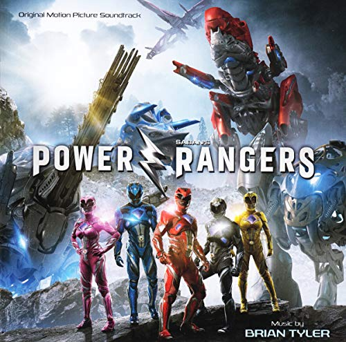 Le CD de la B.O. du film Power Rangers
