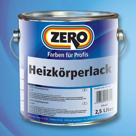 Heizkörperlack 750 ml Zero Lack Weiß