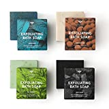 Bombay Shaving Company Exfoliating Bath Soaps, 100g (Pack of 4)