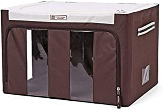 PPCP Storage Box Clothing Household Storage Box Oxford Storage Box (Color : Brown)