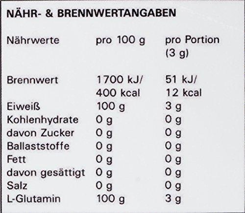 SygLabs Nutrition L-Glutamin Pulver, 1er Pack (1 x 1 kg) - 4