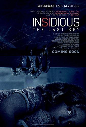 Poster Insidious The Last Key Movie 70 X 45 cm