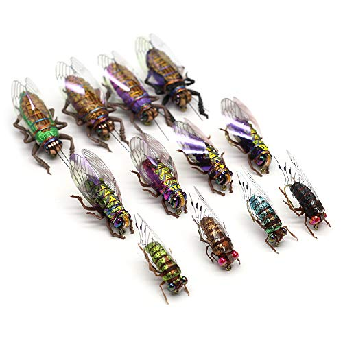 Fly Fishing Flies Realistic Dry Wet Nymph Trout Flies Hand Tie Lures...