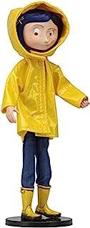 NECA 49503 Coraline Fashion - Muñeca de Moda, Color Amarillo, Azul