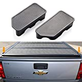 Moonlinks GMC Canyon Stake Pocket Covers for 2015 2016 2017 2018 2019 2020 GMC Canyon/Chevy Colorado Stake Pocket Covers,Truck Bed Rail Stake Pocket Plugs 2 Pack (Will NOT Fit Silverado & Sierra)