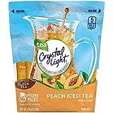 Crystal Light Tea Sticks, Peach, 16 Count/32 Quarts